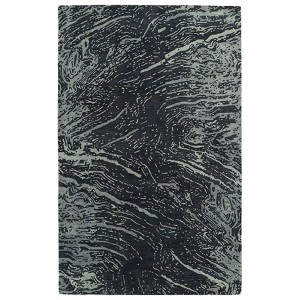 Brushstrokes Charcoal BRS01 Rectangular: 5 Ft. x 7 Ft. 9 In. Rug