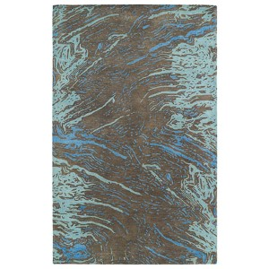 Brushstrokes Chocolate BRS01 Rectangular: 5 Ft. x 7 Ft. 9 In. Rug