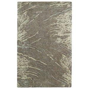 Brushstrokes Brown BRS01 Rectangular: 5 Ft. x 7 Ft. 9 In. Rug