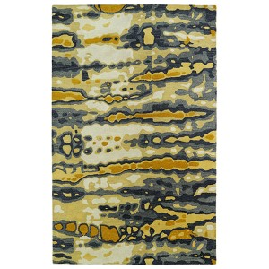 Brushstrokes Gold BRS03 Rectangular: 5 Ft. x 7 Ft. 9 In. Rug
