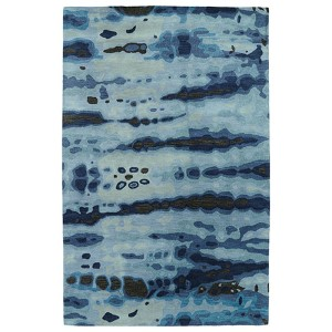 Brushstrokes Blue BRS03 Rectangular: 5 Ft. x 7 Ft. 9 In. Rug