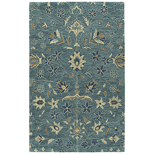 Chancellor Blue Hand-Tufted 5Ft. x 7Ft. 9In Rectangle Rug