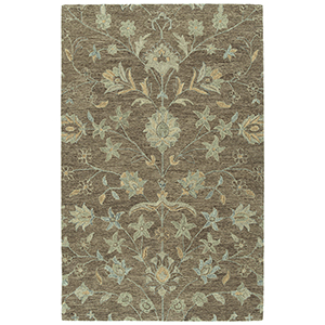 Chancellor Light Brown Hand-Tufted 5Ft. x 7Ft. 9In Rectangle Rug