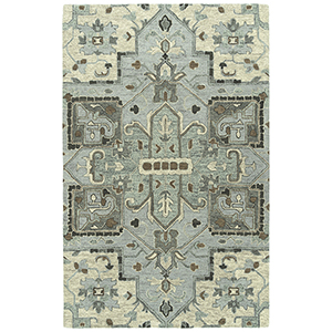 Chancellor Spa Hand-Tufted 5Ft. x 7Ft. 9In Rectangle Rug