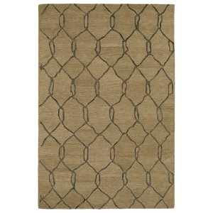 Casablanca Light Brown Rectangular: 5 Ft. x 8 Ft. Rug