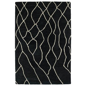Casablanca Charcoal Rectangular: 5 Ft. x 8 Ft. Rug