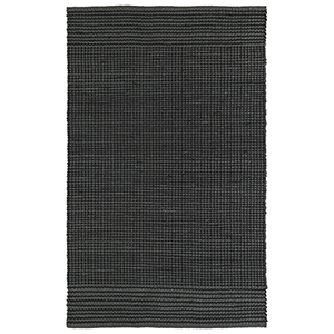 Colinas Charcoal Rectangular: 21 In. x 34 In.