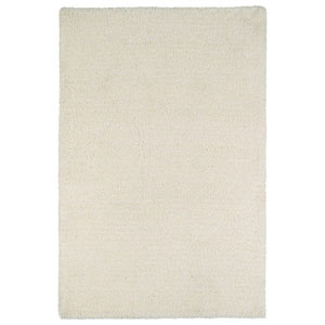 Cotton Bloom White Rectangular: 2 Ft. x 3 Ft. Rug