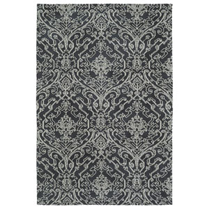 Cozy Toes Charcoal Rectangular: 2 Ft. x 3 Ft. Rug
