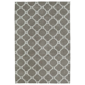 Cozy Toes Taupe Rectangular: 2 Ft. x 3 Ft. Rug