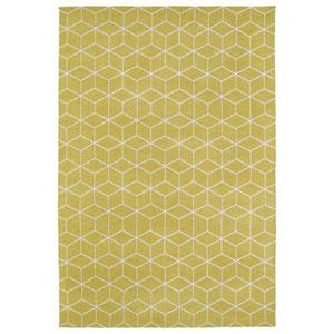 Cozy Toes Yellow Rectangular: 2 Ft. x 3 Ft. Rug