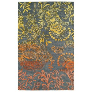 Divine Fire DIV02 Rectangular: 5 Ft. x 7 Ft. 9 In. Rug