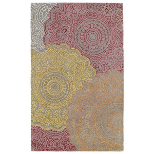 Divine Fire DIV03 Rectangular: 5 Ft. x 7 Ft. 9 In. Rug