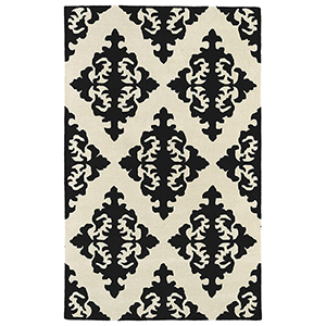 Evolution Black Hand Tufted 11Ft. 9In Square Rug