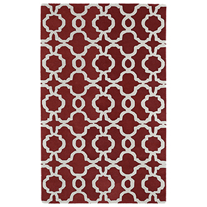 Revolution Red Hand Tufted 9Ft. 9In Round Rug