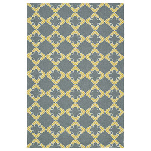 Escape Grey and Yellow Rectangular: 2 Ft x 3 Ft Rug