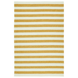 Escape Gold and Ivory Rectangular: 2 Ft x 3 Ft Rug
