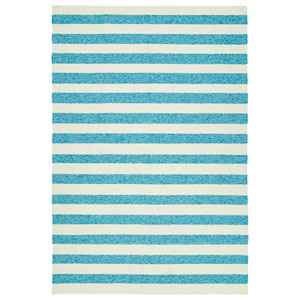 Escape Blue and Ivory Rectangular: 2 Ft x 3 Ft Rug