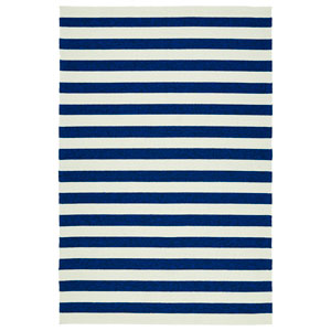 Escape Navy and Ivory Rectangular: 2 Ft x 3 Ft Rug