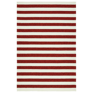 Escape Red and Ivory Rectangular: 2 Ft x 3 Ft Rug