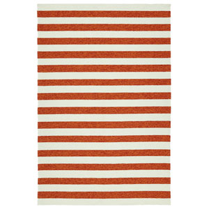 Escape Paprika and Ivory Rectangular: 2 Ft x 3 Ft Rug