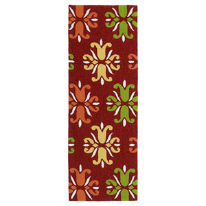 Escape Red Runner 2 Ft X 6 Rug