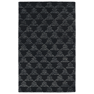 Evanesce Black Rectangular: 2 Ft. x 3 Ft.