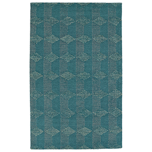 Evanesce Teal Rectangular: 2 Ft. x 3 Ft.