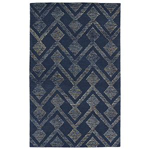 Evanesce Navy Rectangular: 2 Ft. x 3 Ft.