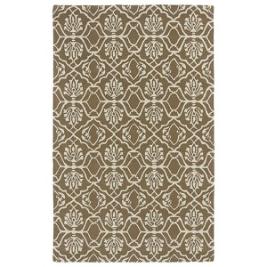 Evolution Lite Brown Rectangular: 5 Ft. x 7 Ft. 9 In. Rug