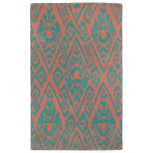 Evolution Watermelon Rectangular: 5 Ft. x 7 Ft. 9 In. Rug