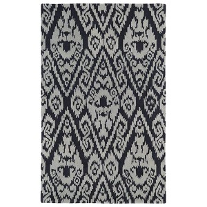 Evolution Charcoal and Grey Rectangular: 5 Ft. x 7 Ft. 9 In. Rug