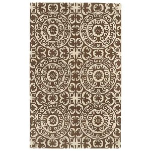 Evolution Brown Rectangular: 5 Ft. x 7 Ft. 9 In. Rug