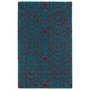 Evolution Peacock Rectangular: 5 Ft. x 7 Ft. 9 In. Rug
