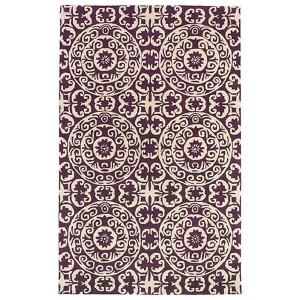 Evolution Purple Rectangular: 5 Ft. x 7 Ft. 9 In. Rug