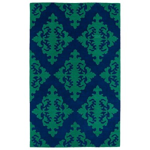 Evolution Navy Rectangular: 5 Ft. x 7 Ft. 9 In. Rug