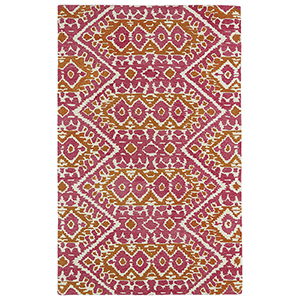 Global Inspirations Pink Hand-Tufted 9Ft. x 12Ft. Rectangle Rug