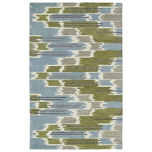Global Inspirations Wasabi Hand-Tufted 9Ft. x 12Ft. Rectangle Rug