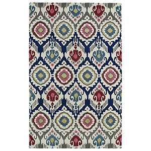 Global Inspirations Multicolor Hand-Tufted 9Ft. x 12Ft. Rectangle Rug