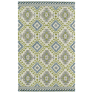 Global Inspirations Ivory Hand-Tufted 9Ft. x 12Ft. Rectangle Rug