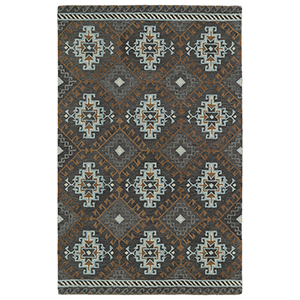Global Inspirations Grey Hand-Tufted 9Ft. x 12Ft. Rectangle Rug