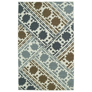 Glam Brown GLA02 Rectangular: 5 Ft. x 8 Ft. Rug