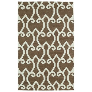 Glam Brown GLA05 Rectangular: 5 Ft. x 8 Ft. Rug