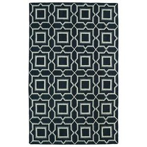 Glam Charcoal GLA06 Rectangular: 5 Ft. x 8 Ft. Rug