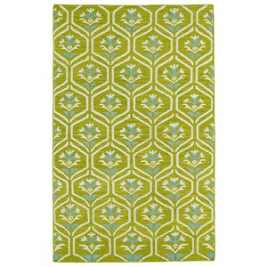 Glam Wasabi GLA08 Rectangular: 5 Ft. x 8 Ft. Rug