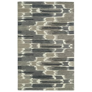 Global Inspirations Grey GLB02 Rectangular: 5 Ft. x 7 Ft. 9 In. Rug