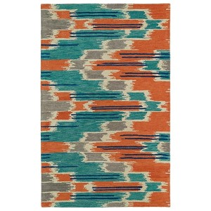 Global Inspirations Multicolor GLB02 Rectangular: 5 Ft. x 7 Ft. 9 In. Rug