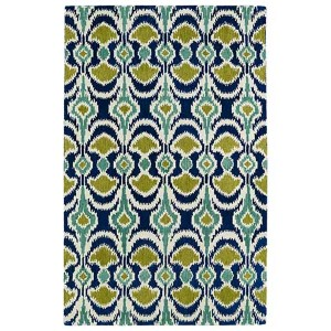 Global Inspirations Blue GLB03 Rectangular: 5 Ft. x 7 Ft. 9 In. Rug