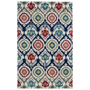 Global Inspirations Multicolor GLB04 Rectangular: 5 Ft. x 7 Ft. 9 In. Rug