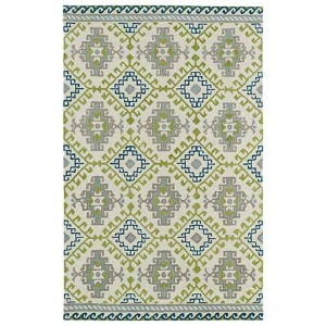 Global Inspirations Ivory GLB07 Rectangular: 5 Ft. x 7 Ft. 9 In. Rug